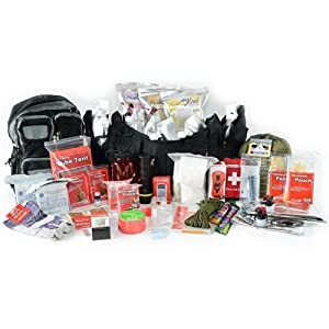 Flood Emergency Bug Out Bag - Deluxe 2 Person Go Pack - Survival Prepper Kit - Food,... by Legacy Premium Food Storage
