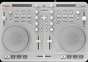 Vestax Spin 2 DJ Controller für Mac, iPad, iPhone oder iPod Touch