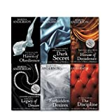 Marina Anderson Collection 6 Books Set, Legacy of Desire, House of Decadence, Dark Secret and Haven of Obedience