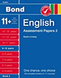 Sarah Lindsay New Bond Assessment Papers English 9-10 Years Book 2