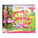 Barbie Slide And Spin Pups Playset From Debenhams
