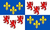 () Drapeau France Picardie 5 ft x 3 ft...