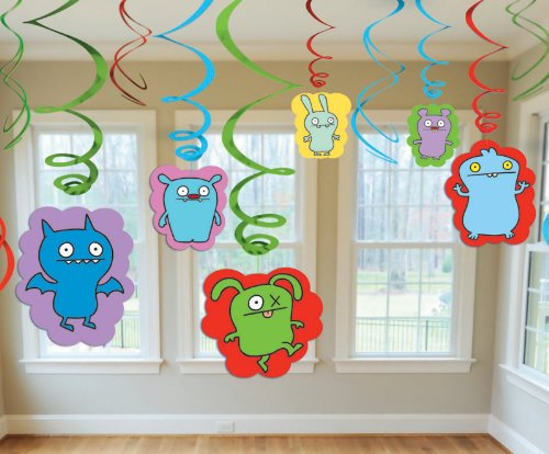 Uglydoll - Swirl Value Pack Party Accessory - 1