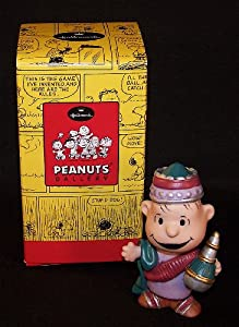 Hallmark Peanuts Gallery Nativity A Wise Man Linus QPC4063
