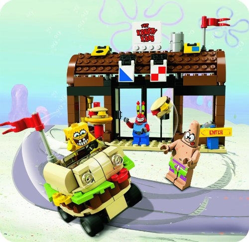 Lego Spongebob Squarepants Krusty Krab Adventures 3833 Instructions