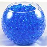 10 Packs Blue Water Beads Aqua Gems Bio Gel Balls Crystal Soil Wedding Vase Centerpiece
