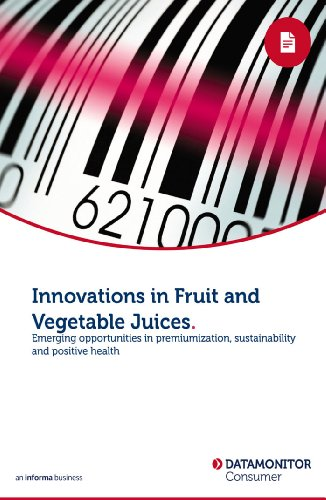 Innovations in Fruit and Vegetable Juices