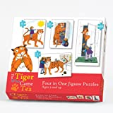 Paul Lamond Games The Tiger Who Came To Tea 4 In 1 Jigsaw Puzzles