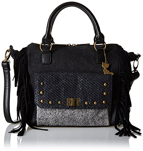 Lollipops Ytak 22199, Borsa a spalla donna , Nero (Black (nero)), Taille Unique