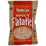 Flamous Brands Organic Falafel Chips - Spicy, 1.6oz (24-Pack)