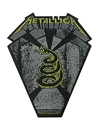 Metallica Pit Boss Official New Cut Out Patch