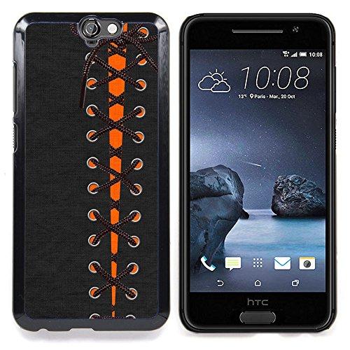 For HTC One A9 Case , Abito Goth Bow Stivali Fashion - Design Pattern Duro Staccabile Stile Telefono Cellulare Nuovo Caso Cover Guscio Duro