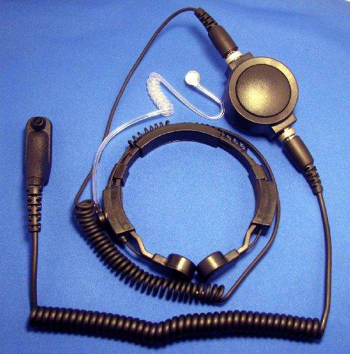Heavy Duty Throat Microphone For Motorola Xpr Xir Mototrbo