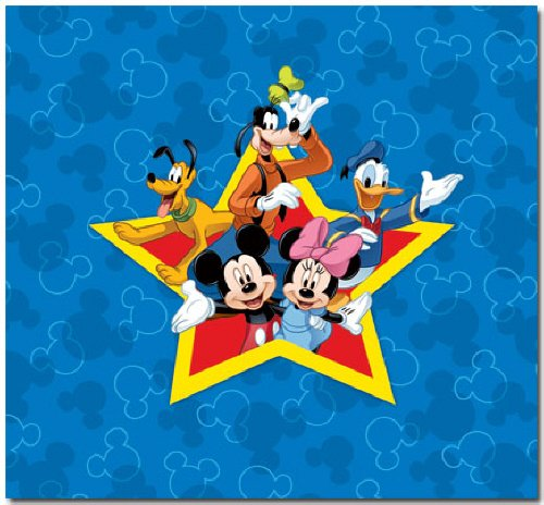 SandyLion Disney Mickey and Friends Scrapbook Album (Peter Pan Scrapbook Paper compare prices)