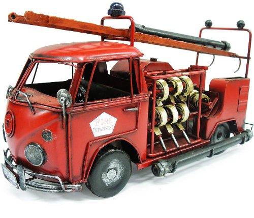 铁匠营铁皮车模 德国大众早期消防车