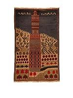 Kilim Carpets by Jalal Alfombra Afg Bel Zakini (Beige/Multicolor)