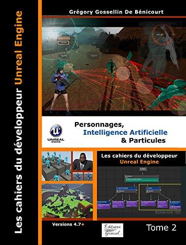 couverture du livre Les cahiers d'Unreal Engine Tome 2