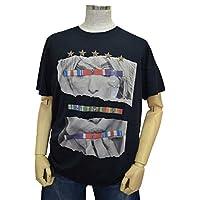 (ゲス)GUESS 半袖Tシャツ ブラック XL 【並行輸入品】