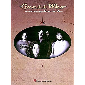 Amazon.com: The Guess Who Songbook (0073999082500): Guess Who: Books