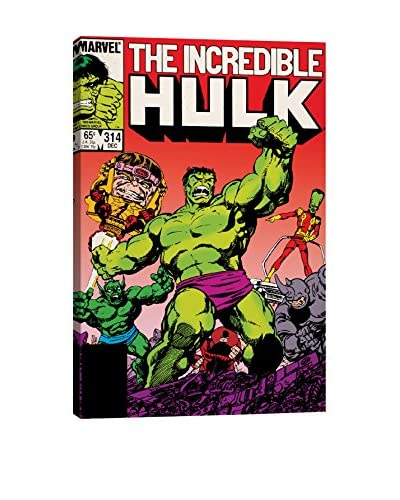 The Incredible Hulk Issue #314 Cover Gallery-Wrapped Canvas Print