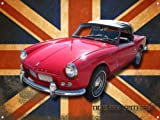 TRIUMPH SPITFIRE METAL SIGN