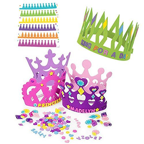 Princess Tiara Crown Craft Kits
