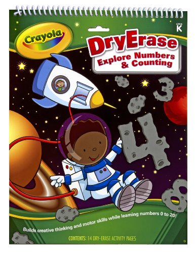 Crayola Dry Erase Activity Tablet Exploring Numbers And Counting - 1