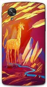 Timpax protective Armor Hard Bumper Back Case Cover. Multicolor printed on 3 Dimensional case with latest & finest graphic design art. Compatible with Google Nexus-5 Design No : TDZ-26598