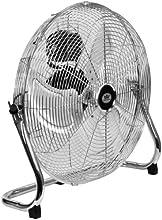 "Quality Prem-I-Air 18"" (45 cm) High Velocity Air Circulator Fan with Chrome finish"