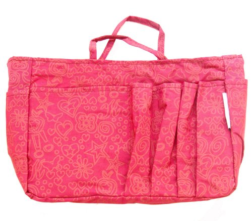 The Plaid Purse Bag Organizer – Fuchsia Hearts