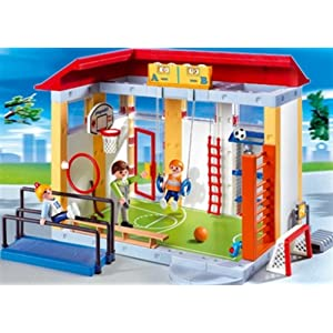 Playmobil School Gym #Giveaway