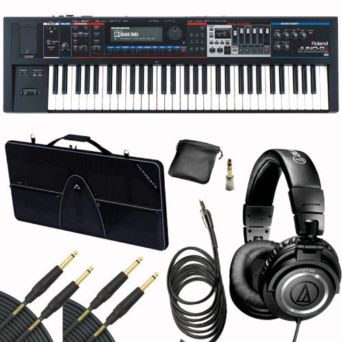 Roland Juno-Gi 61-Key Mobile Synthesizer Keyboard Gig Bundle