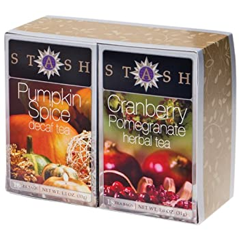 Decaf Pumpkin Spice and Cranberry Pomegranate Boxed Set