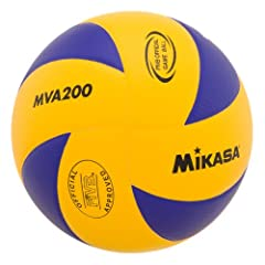 Buy Mikasa MVA200 Indoor Volleyball by Mikasa Sports
