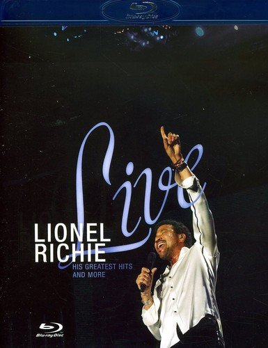 Blu-ray : Lionel Richie - Live: His Greatest Hits and More (Blu-ray)