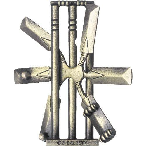 Cheap Hanayama Cast Cricket – Hanayama Cast Metal Puzzle (B000S0TM5G)