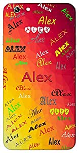 Alex (Defender of Mankind Noble Female Version of Alexander) Name & Sign Printed All over customize & Personalized!! Protective back cover for your Smart Phone : Samsung Galaxy Note-3