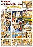 echange, troc Joëlle d'Abbadie - 1ère année livret 2 - Je colorie le catéchisme - La Miche de Pain