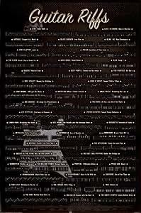 Guitar Riffs Poster, 61x92