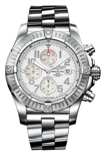 NEW BREITLING AEROMARINE SUPER AVENGER MENS WATCH A1337011/A699