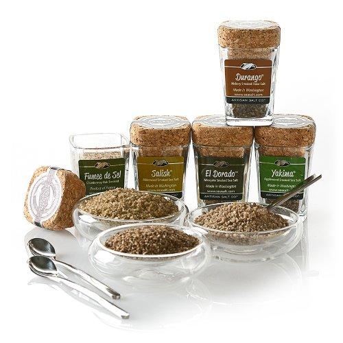 Limited Edition Artisan Salt Sampler w/3 bowls