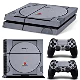 Ps4 Console Beste Deals - Ps4 Playstation 4 Console Skin Decal Sticker Retro Vintage + 2 Controller Skins Set by ZoomHit
