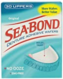 Sea-Bond Denture Adhesive Wafers, Uppers 30 ea