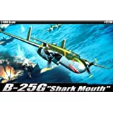 Academy B-25G Shark Mouth Airplane Model Building Kit by Academy