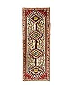 QURAMA Alfombra Persian Kaskai Beige/Multicolor 199 x 73 cm