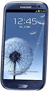 Samsung Galaxy S III/s3 Gt-i9300 Factory Unlocked Phone International Version Pebble Blue