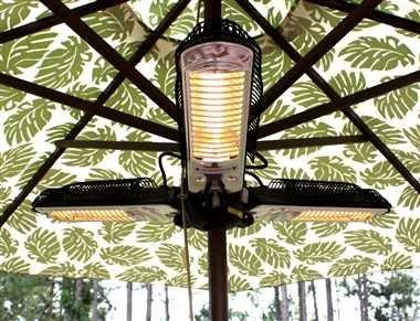 Fire-Sense-IndoorOutdoor-Infrared-Heater-with-Patio-Umbrella-Pole-Attachment