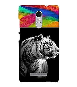 PrintVisa Animal Tiger Print & Pattern 3D Hard Polycarbonate Designer Back Case Cover for Xiaomi Redmi Note 3