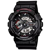 G Shock Combination Miltary Watch-Matte Black model number is GA-100-1A1CU