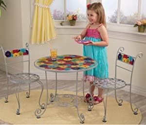 KidKraft Bistro Table and 2 Chair Set by KidKraft